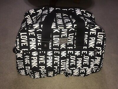 Victorias Secret Pink Rolling Duffel Carry On Luggage