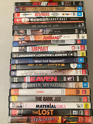 20 x DVD Movies ~ BULK LOT ~ $$CHEAP$$ #8