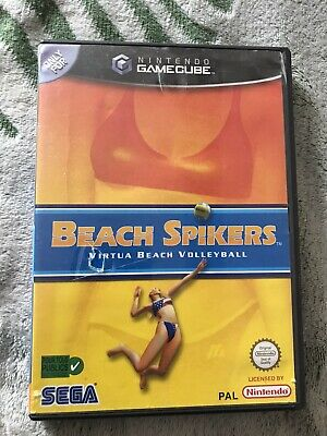 jeu nintendo game cube beach spikers  fr