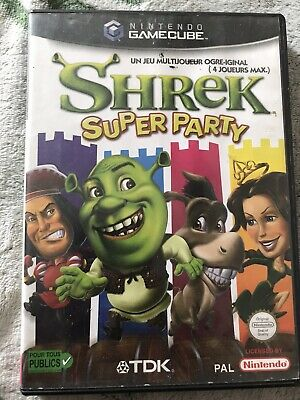 Shrek: Super Party Nintendo GC GameCube PAL FR