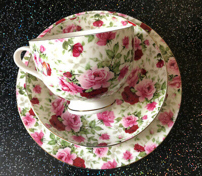 Lovely Maxwell & Williams 3 Piece Teaplate, Cup & Saucer In Nice Condition