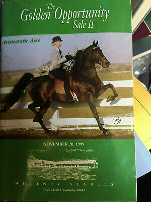 Morgan Horse Auction Catalogues and Show Programs