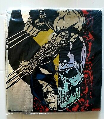 Vintage 1993  Marvel Wolverine T shirt sealed in orginal  bag holographic Med.