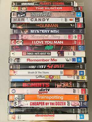 20 x DVD Movies ~ BULK LOT ~ $$CHEAP$$ #16