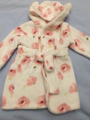 Baby Girl 3-6 Months Dressing Gown. New From George. Very Soft