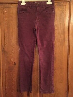 River Island coloured jeans (adjustable waist) age 7 years