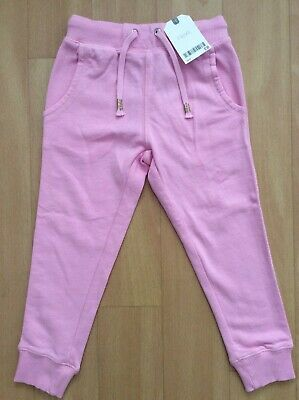 New Girls Next Pink Joggers Size 4 Years Tracksuit/Jogging Bottoms