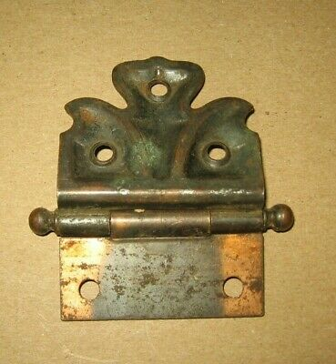Vintage Heavy Metal Cupboard Cabinet Butterfly Hinge~Stock Part a
