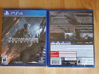 Terminator Resistance PS4 Sealed (Brand New) (Rare)