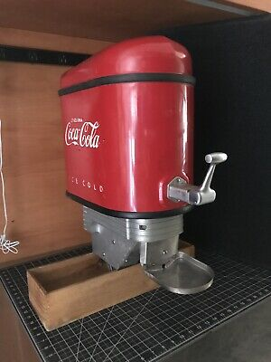 Vintage Coca Cola Coke  Outboard Boat Motor Soda Fountain Dispenser All Original
