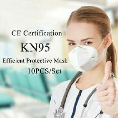 10 Pcs KN95 Medical,Surgical,Dental 5 Layers Face Mask Mouth Cover Shield