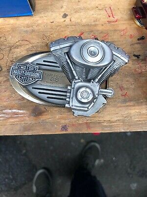"Harley Davidson Twin Cam Belt Buckle 88"" for display or Wear Rare"