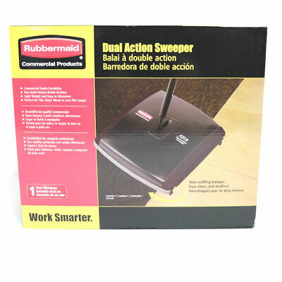Rubbermaid FG421388BLA Dual Action Sweeper