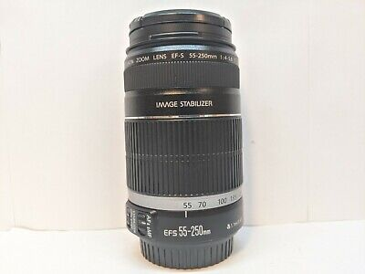 Canon EF-S 55-250mm f/4-5.6 IS Image Stabilizer Telephoto Zoom Lens