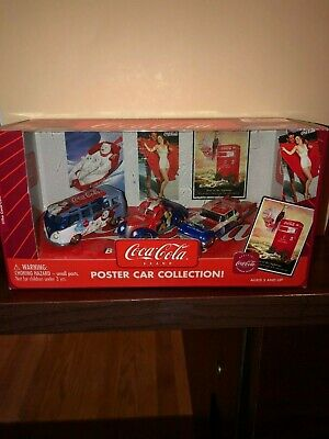 Johnny Lightning Coca-Cola Poster Car Collection