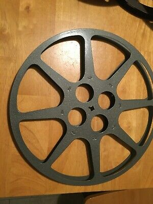 "ONE Vintage (1) Movie Projector 16mm Take Up Reel 12"" Motion Picture Film 1200'"