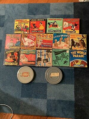 Lot Of 16 8mm Castle And More Abbott Costello Aladdin
