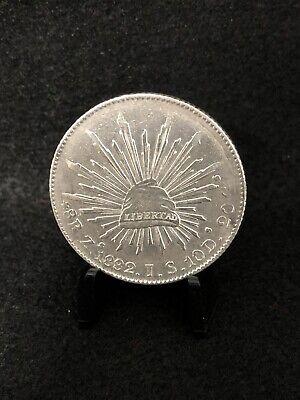 Mexico 1882 8 Reales Zs~JS
