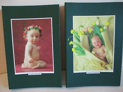 Anne Geddes Set Of Two Baby Photo Albums