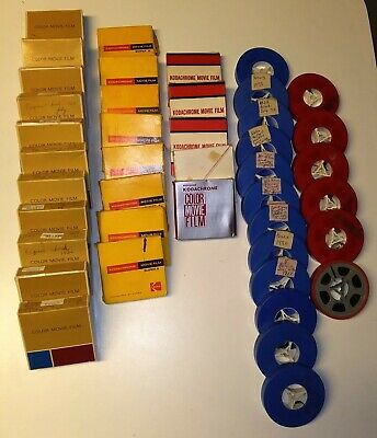 Lot Of 55 8mm 16mm Home Movies 1950s to 1970s