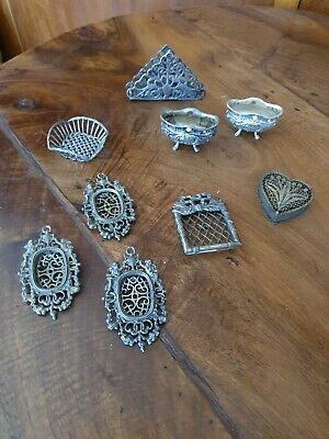 Miniature microfusione ARGENTO 800 Solid Sterling Silver gr 142
