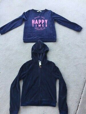 2 x Jumper, Hoodie from H&M.  Girls Size: 8-10 years. Lovely Fleece.