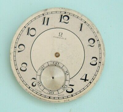 Watchmaker lot Omega pocket watch movement for spares Good balance omega
