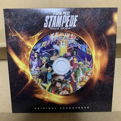 One Piece Stampede Pamphlet Cd Zoro New Japan Limited Rare
