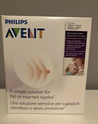 Philips Avent A Simple Solution For Flat Or Inverted Nipples - 2 Niplette