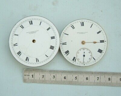 Watchmaker Thomas Russell Liverpool pocket watch movements  for Parts or spares