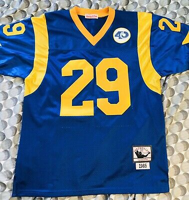 Los Angeles Rams Eric Dickerson '85 Throwback Jersey     Size L