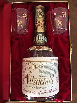 Very Extra Old Fitzgerald / Pappy Van Winkle / Stitzel-Weller (empty bottle)