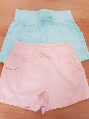 2 Pairs Of New Girls  Shorts Age 3-4yrs