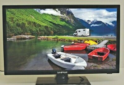 Sniper 24 inch Camping TV 12 volt DVD, Satellite Freeview