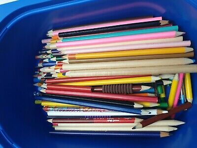 Large selection of colouring pencils, great for child or adult colouring,