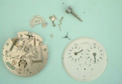 Watchmaker Junghans complicated stop pocket watch been  stripped down for spares