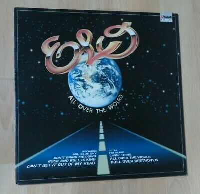 ELECTRIC LIGHT ORCHESTRA - ALL OVER THE WORLD VINYL LP DUTCH - Arcade label