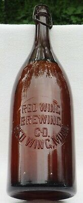 RED WING, MINNESOTA picnic beer RED WING BREWING CO, super condition