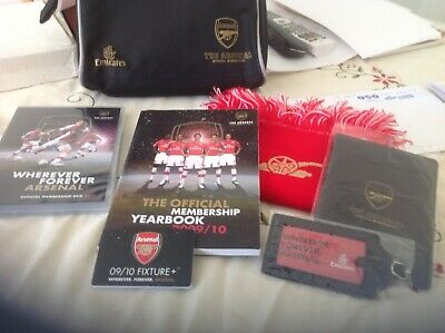 New - Arsenal Official Membership Set For 2009/10