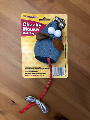 Cleo Pet Cheeky Mouse Cat Toy