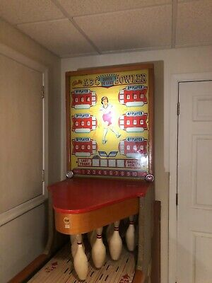 Vintage '50s Bally ABC Bowler - Man Cave toy
