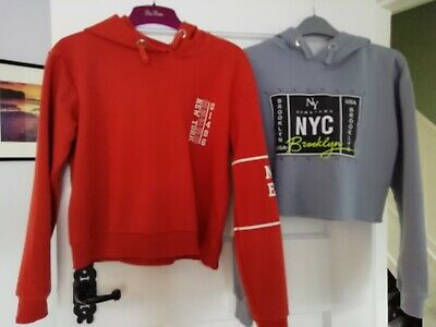 Girls JUMPERS HOODIES age 12-13 from NEW LOOK X 2