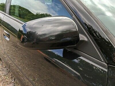 Audi A3 8P 2004-2008 Front Drivers/Right Wing Mirror Black Ly9B