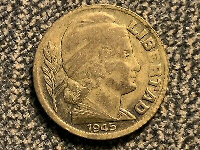 ARGENTINA 10 Cents 1945