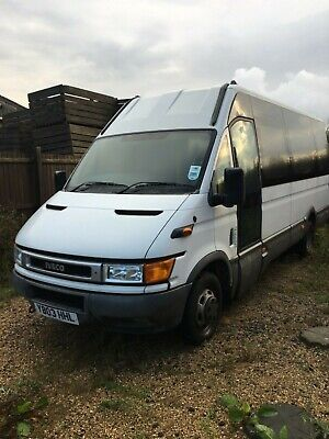 Iveco daily ideal camper van
