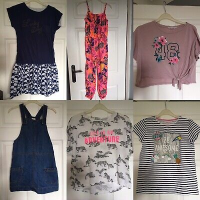Girls Clothes Bundle 10-11 Years H&M Bluezoo Primark