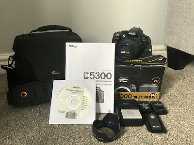 Nikon D5300 DSLR in Excellent Condition 1420 Actuations w/ 18-55mm Lens + Extras