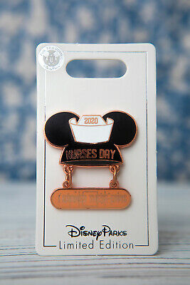 DISNEY 2020 - NURSE DAY PIN - LIMITED EDITION - MOUSEKETEER EAR HAT - Free Ship