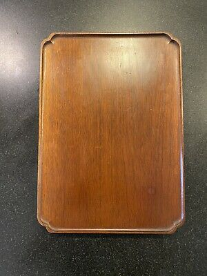 Colonial Williamsburg Foundation Don Works Queen Anne Mahogany Tray 35125
