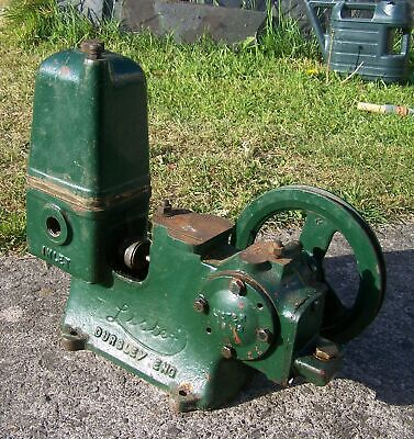 Lister type 187 water pump for use with stationary engine
